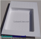 UNIVERSAL SHOWER TRAY WHITE